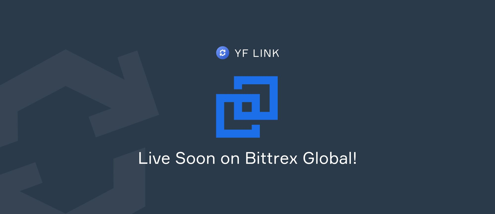 YF Link Trading on Bittrex Global!