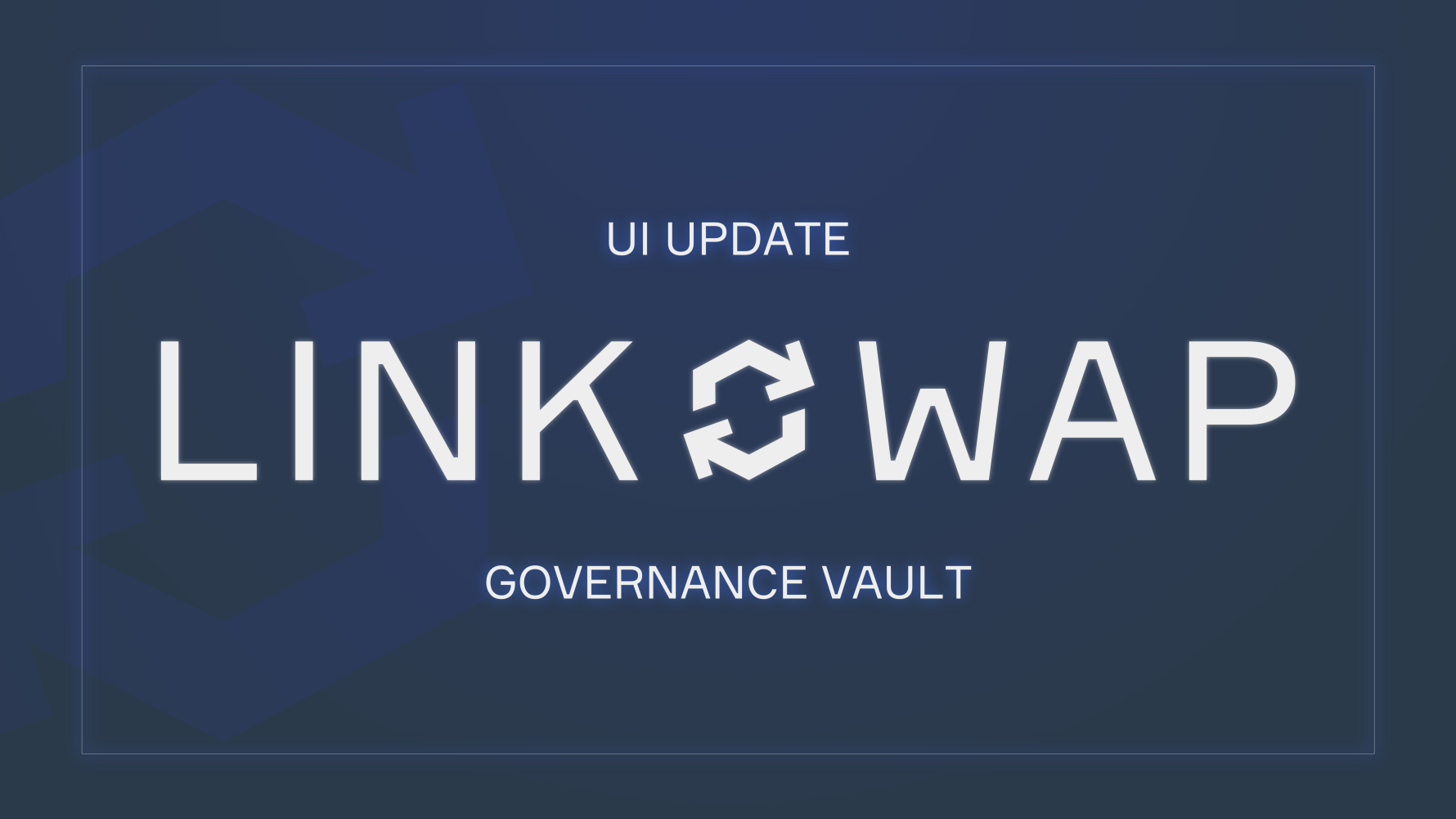 Governance Vault Update: Big UI Revamp, APY, and Snapshot Vote!