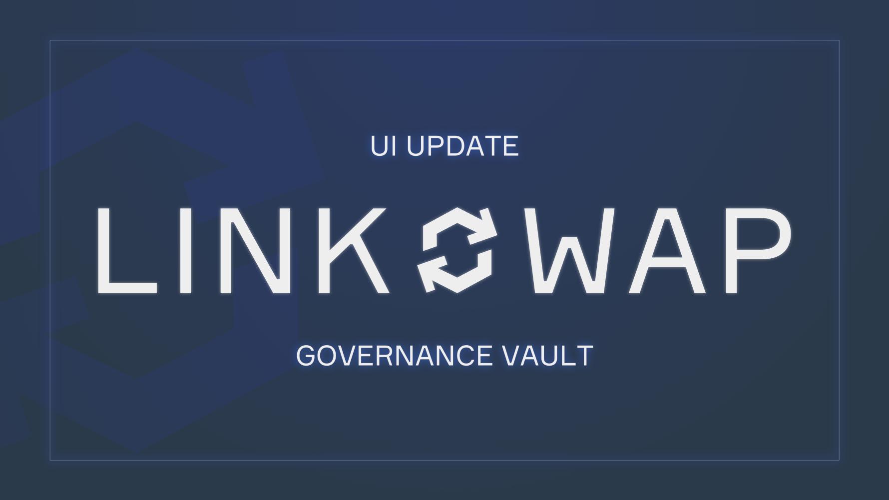 Governance Vault Update: Big UI Revamp, APY, and Snapshot Vote!