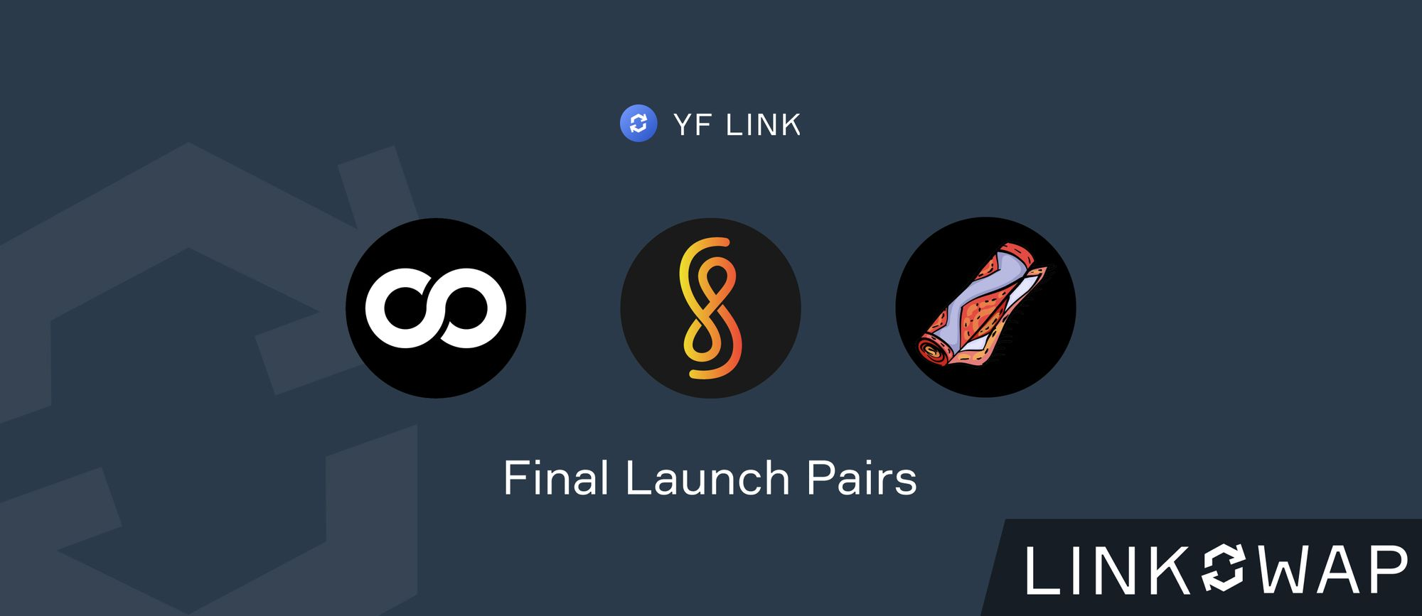 LINKSWAP Launch Pairs Announcement