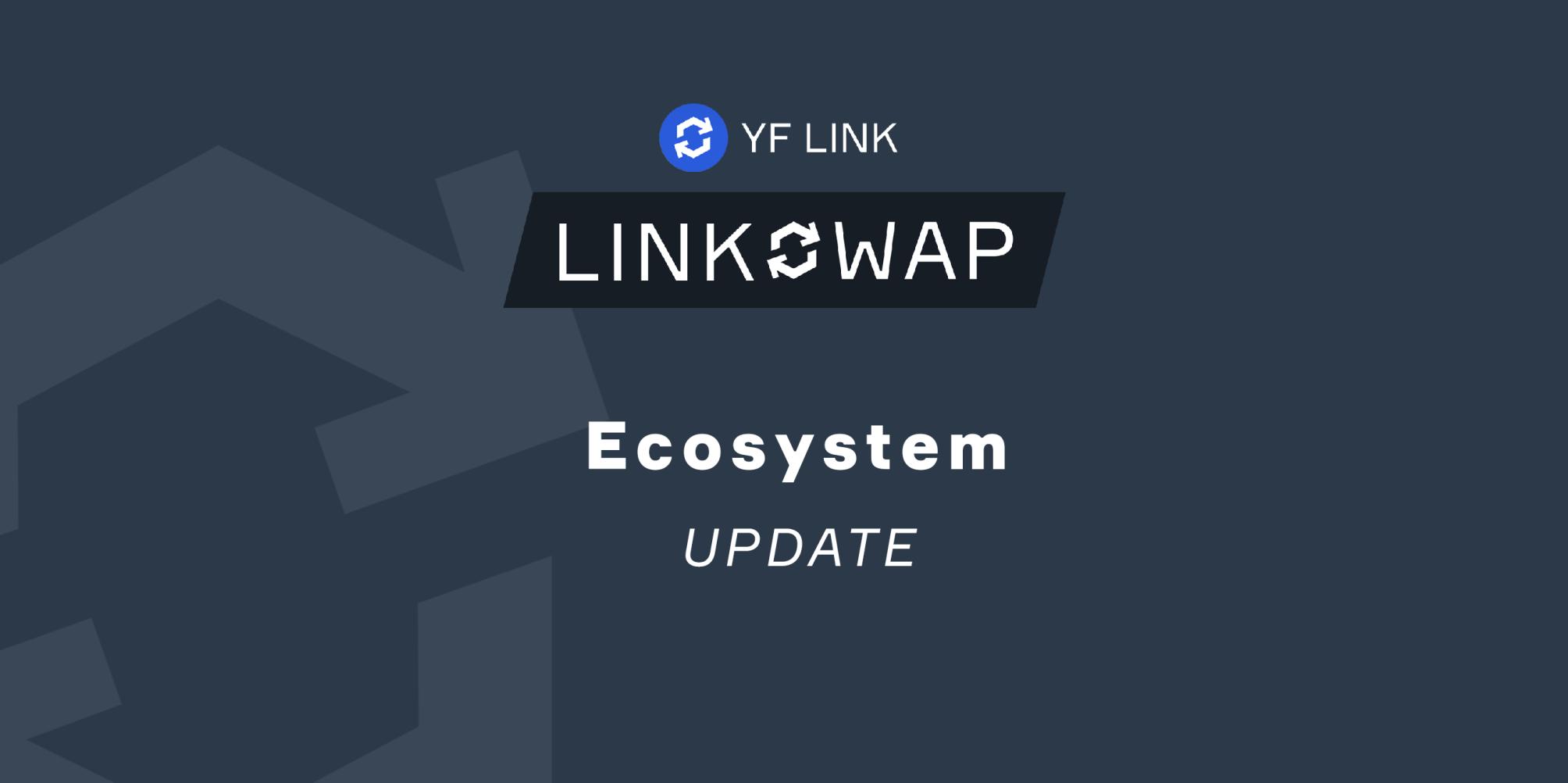 LINKSWAP update: Governance Staking Rewards and New Reward Pools