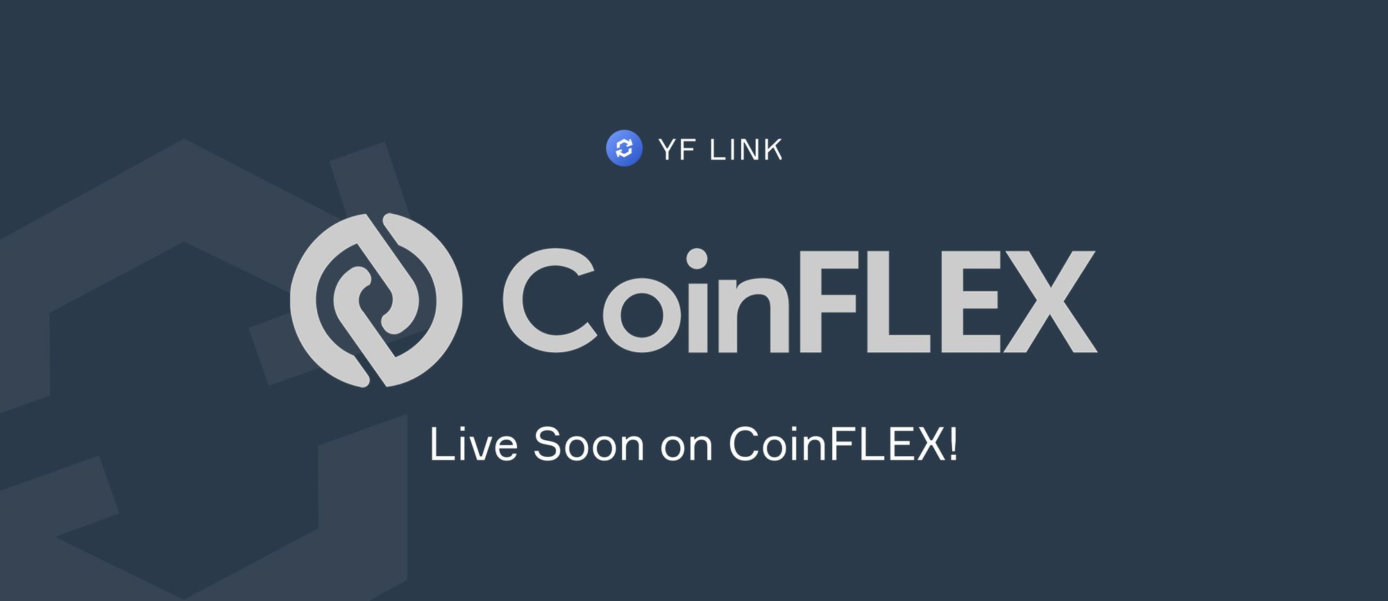 YF Link Trading on CoinFLEX!