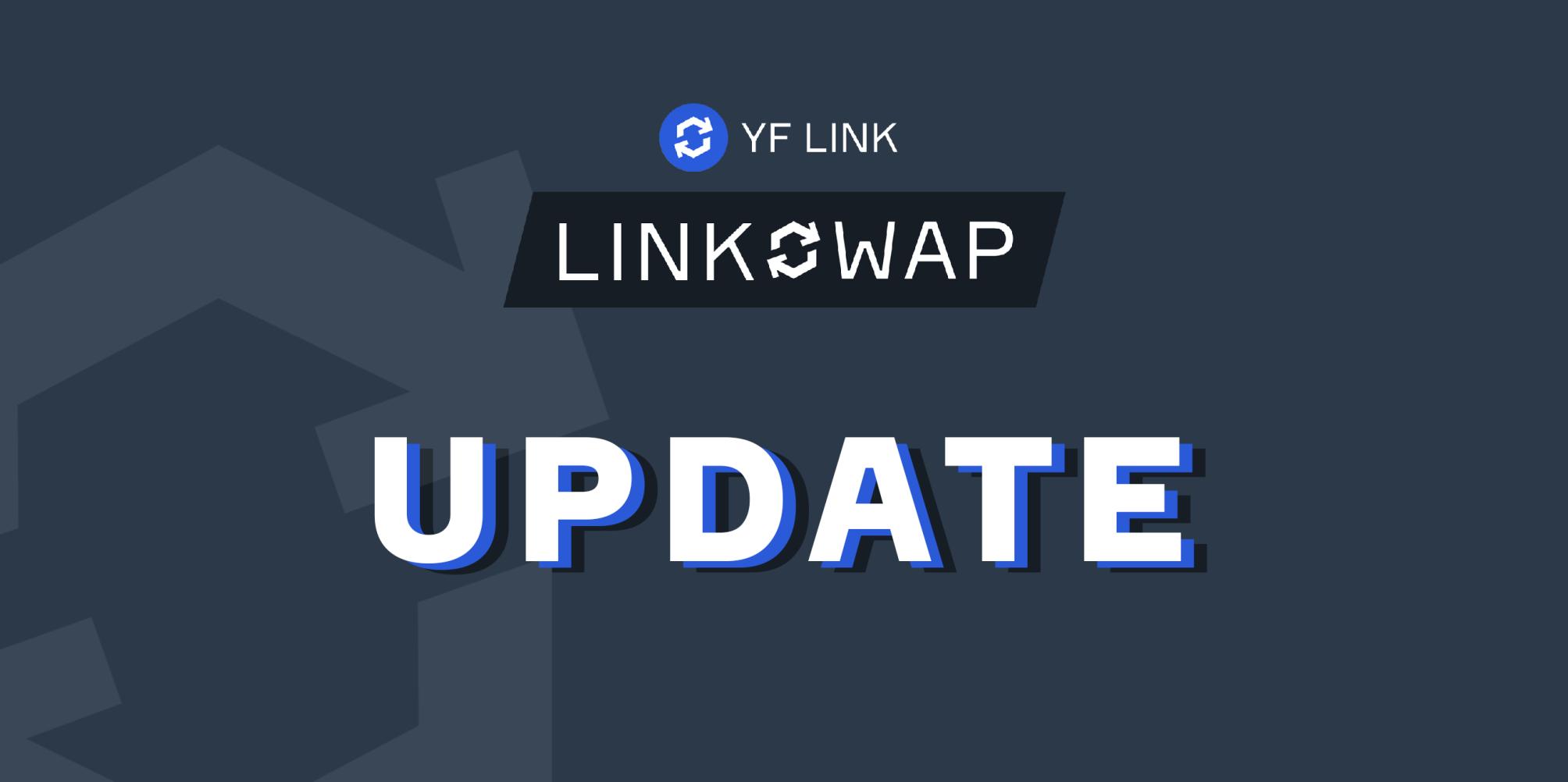 Linkswap update: Staking Rewards, Roadmap and New Core Team!