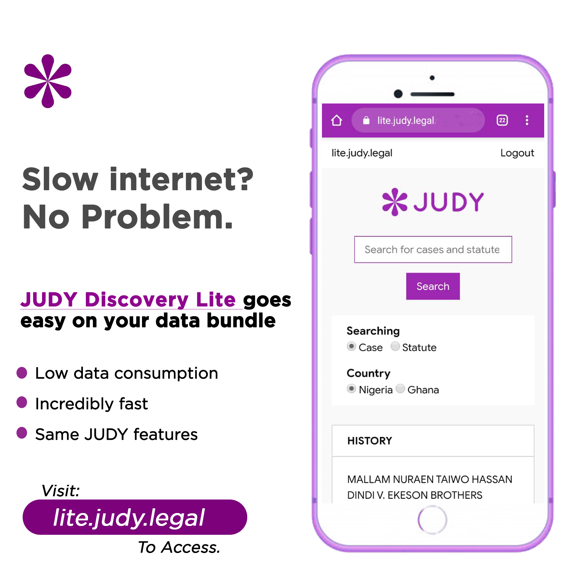 JUDY launches lite version of their app